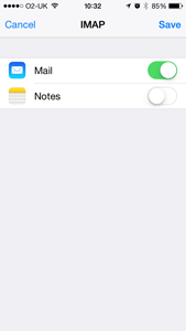 iOS Save